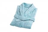 Бамбуковый халат, Светло синий (Soothing Sea)